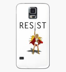 """She-Ra says """"RESIST"""" Case/Skin for Samsung Galaxy"""