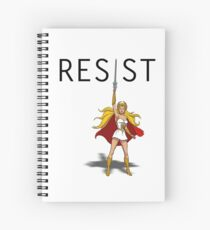 "She-Ra says ""RESIST"" Spiral Notebook"