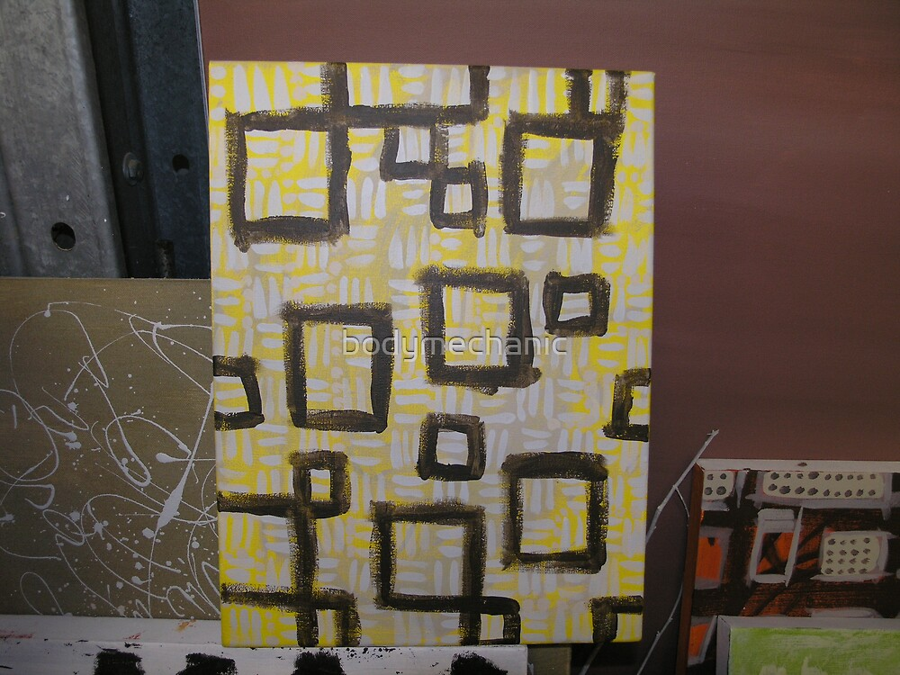 yellow box gum- work in progress by bodymechanic