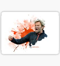 Jurgen Klopp Sticker and Print's Sticker