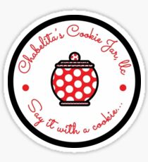 Chabelita's Cookie Jar Sticker Sticker