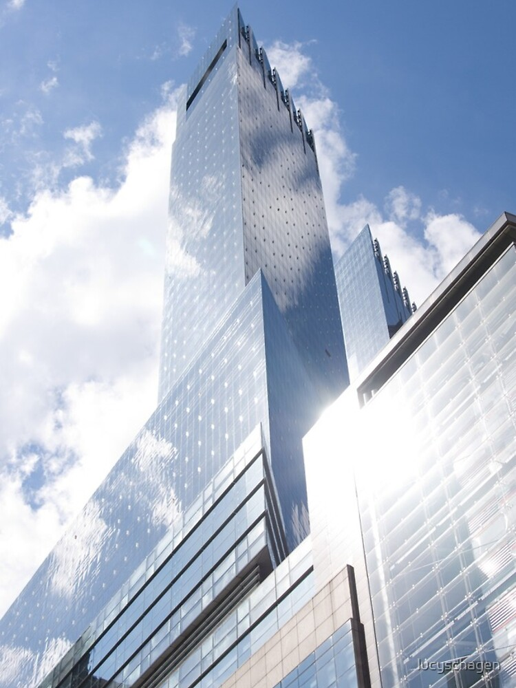 Himmelreflexion auf Wolkenkratzer in New York von lucyschagen