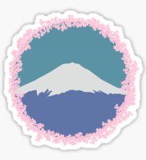 Fuji Sakura  Sticker