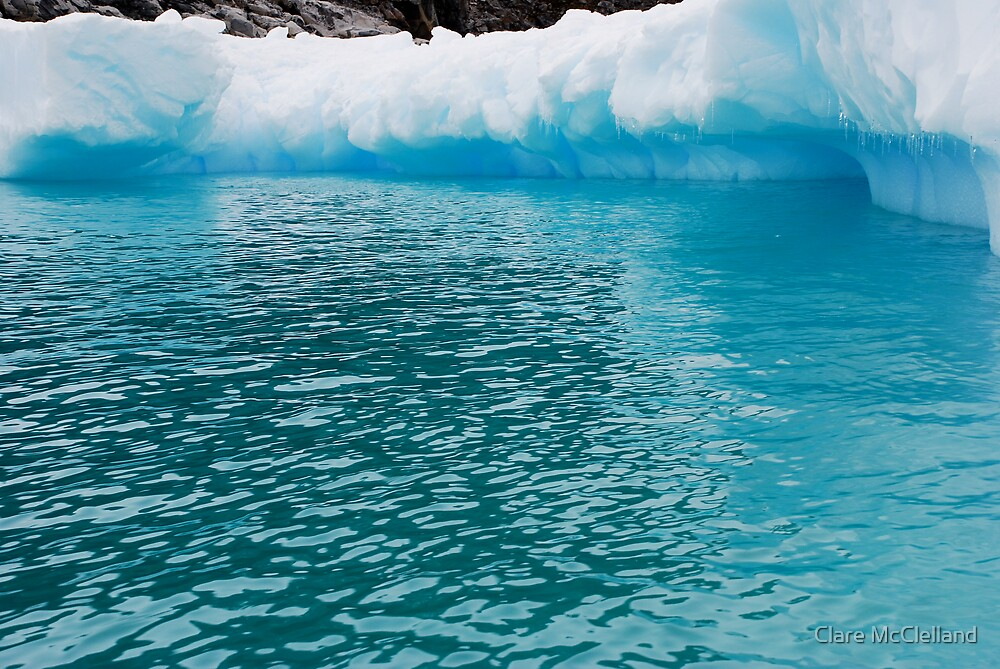 Blue Ice Lagoon  by Clare McClelland