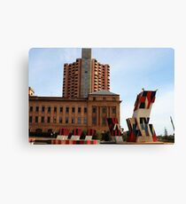 History of Adelaide Architecture Canvas Print