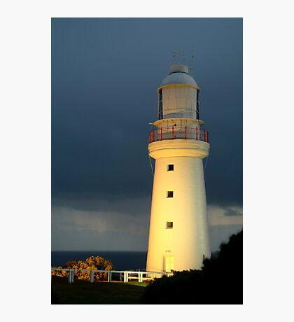 Twilight Rain, Cape Otway Lightstation Photographic Print