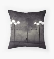 Lonesome outpost Throw Pillow