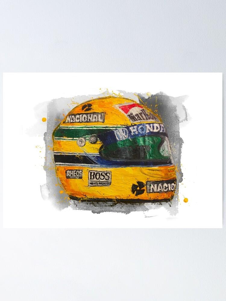 Ayrton Senna F1 Legend Taza//Prefecto De Regalo
