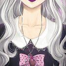 Pastel Goth Girl by Elisa Serio