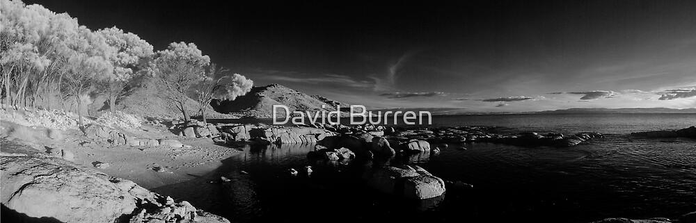 Coles Bay at dusk by David Burren