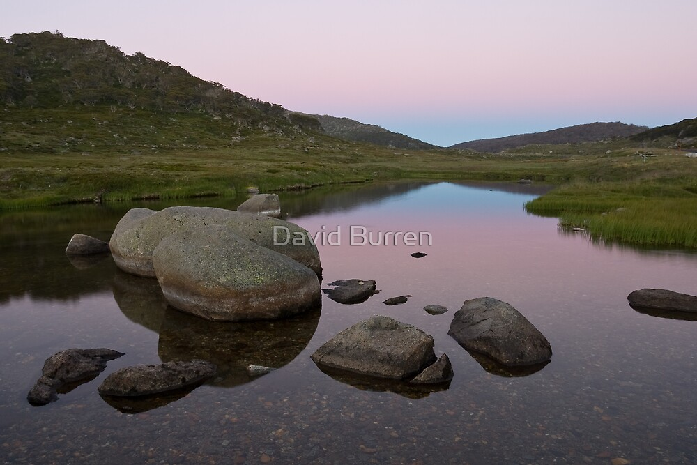 Kosciusko afterglow by David Burren