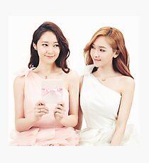 Jessica & Krystal Photographic Print