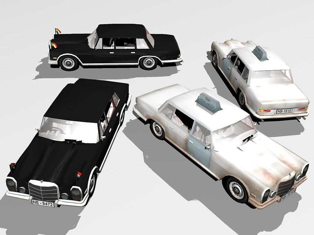 Mercedes 600 by SenorFreebie