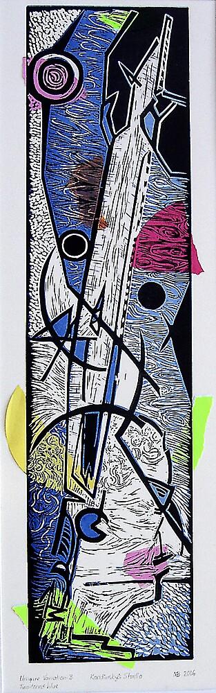 Kandinsky's Studio by Marilyn Brown