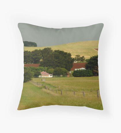 Maddens Hill Throw Pillow
