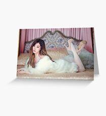 Tiffany - SNSD Greeting Card