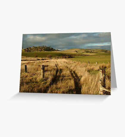 Rosebury Hill Pipers Creek Macendon Greeting Card