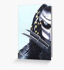 Predator Greeting Card