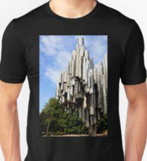 The Sibelius Monument, Helsinki, Finland Unisex T-Shirt
