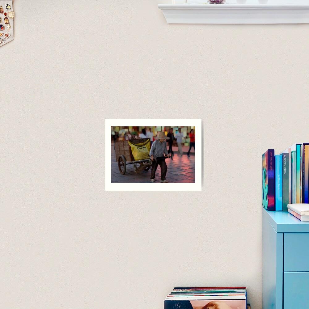 The Ikea Cart Art Print