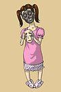 Little Robot Girl Child MONSTER GIRLS Series I by angelasasser