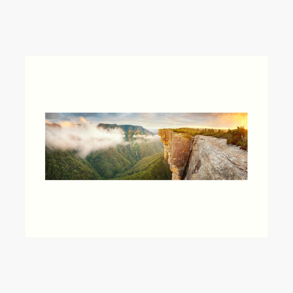 Kanangra Walls, Kanangra Boyd National Park, New South Wales, Australia Art Print
