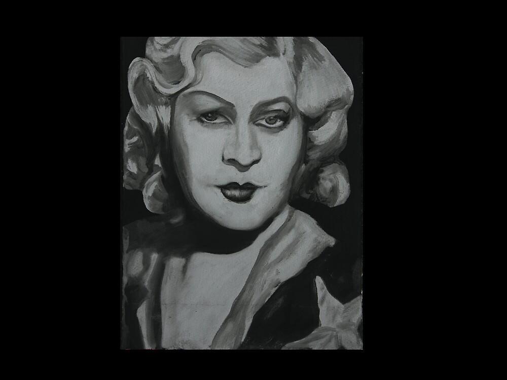 Man Eater Mae West by Tom Dunn