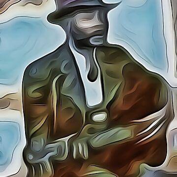 buskin' bard by GreyMouser