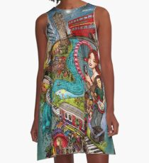 Sounds of London A-Line Dress