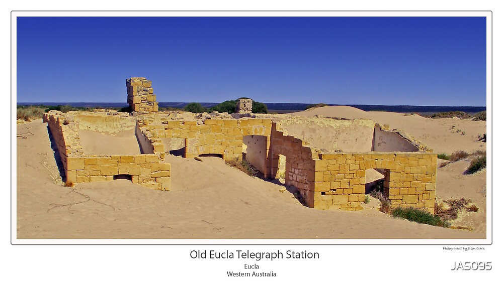 Old Eucla Telegraph Station  by JAS095