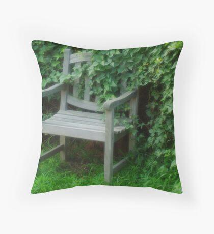 Garden Nook Throw Pillow