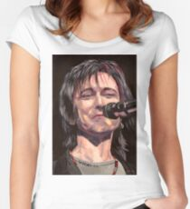 Lawrence Gowan Solo Women's Fitted Scoop T-Shirt