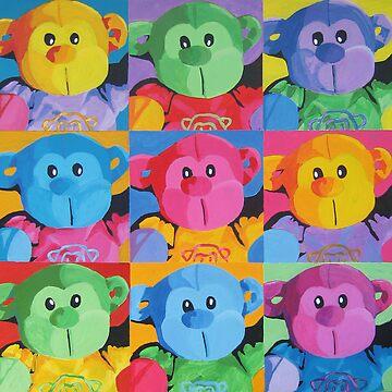 monkeys by fischer