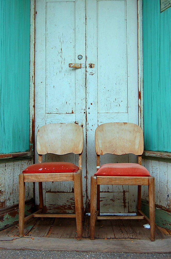 Two Chairs by Fiona  Braendler