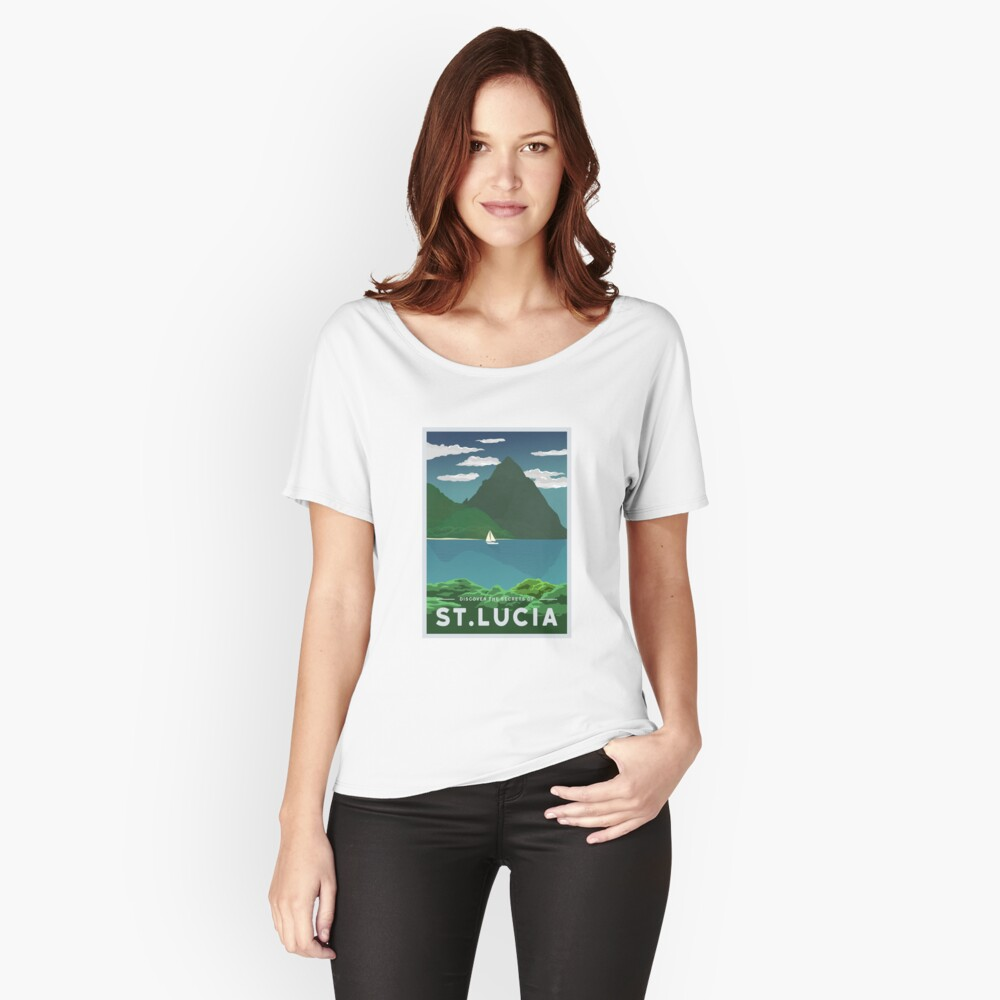 St. Lucia Loose Fit T-Shirt