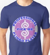 TV Game Show - TPIR (The Price Is...)Pro Plinko Player T-Shirt