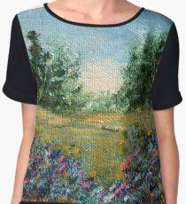 Journey 2, impressionism landscape Chiffon Top