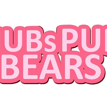 Pink Logo by chubspupsnbears