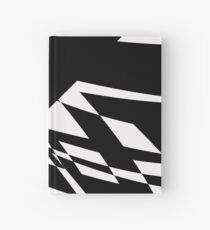 Black and White #8 by Julie Everhart Hardcover Journal