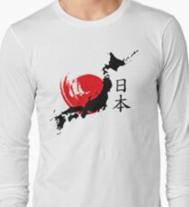 Camiseta de manga larga Japón