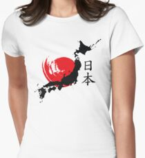 Japan Women's Fitted T-Shirt