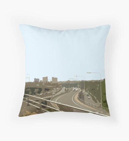 A406 Throw Pillow