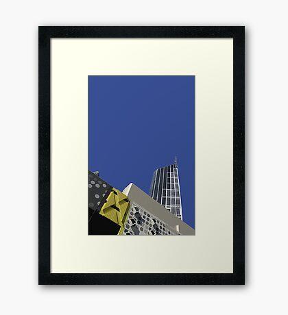 melbourne central Framed Print