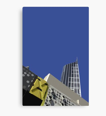 melbourne central Canvas Print