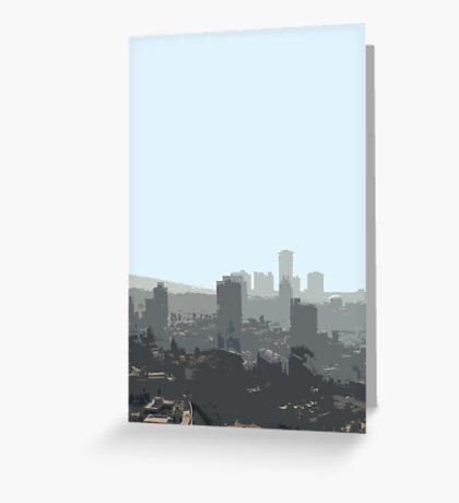 tel aviv haze Greeting Card