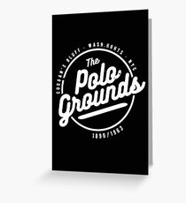 Polo Grounds New York Greeting Card