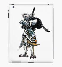 White Dragonborn Paladin iPad Case/Skin