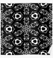 Black and White #9 by Julie Everhart Poster