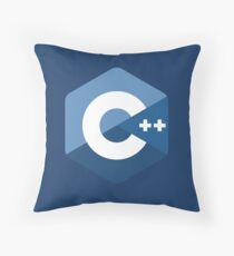 C++ Throw Pillow