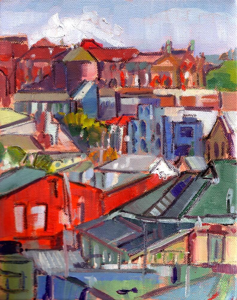 Urbanscape study by Paul  Milburn